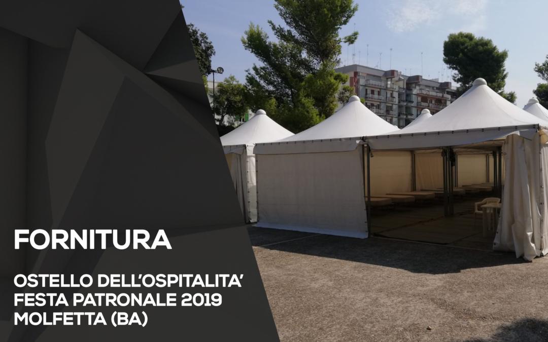 FORNITURA OSTELLO DELL'OSPITALITA'